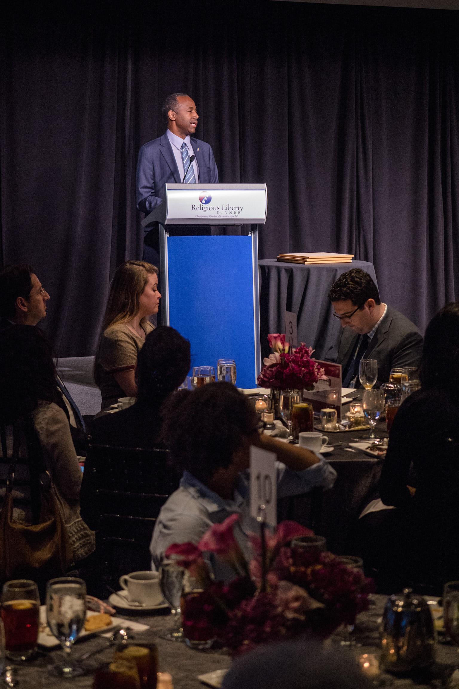 Ben Carson delivers keynote address