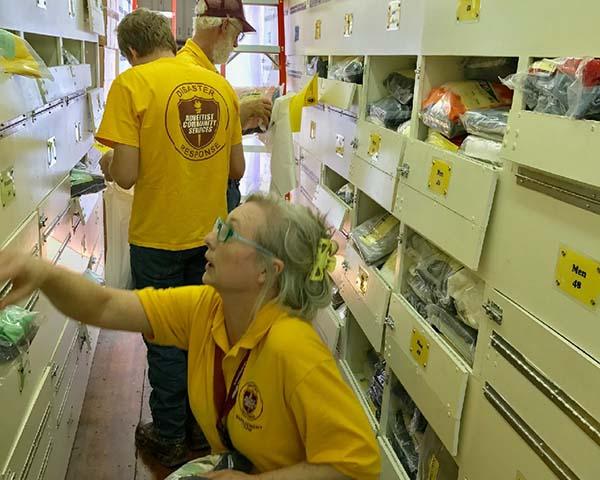 ACS volunteers Texas