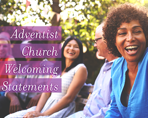 Adventist Church Welcoming Statement graphic