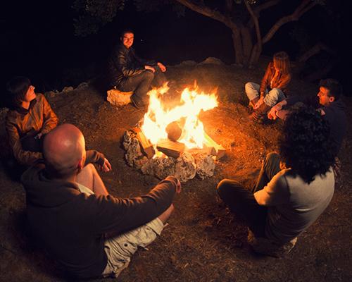 Sabbath school camp fire Wetterlin article