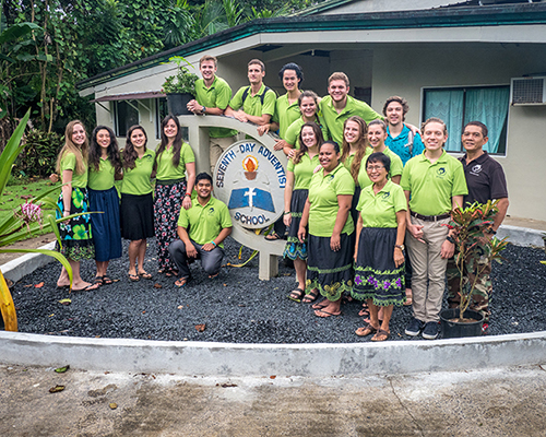 Pohnpei Adventist Mission School staff