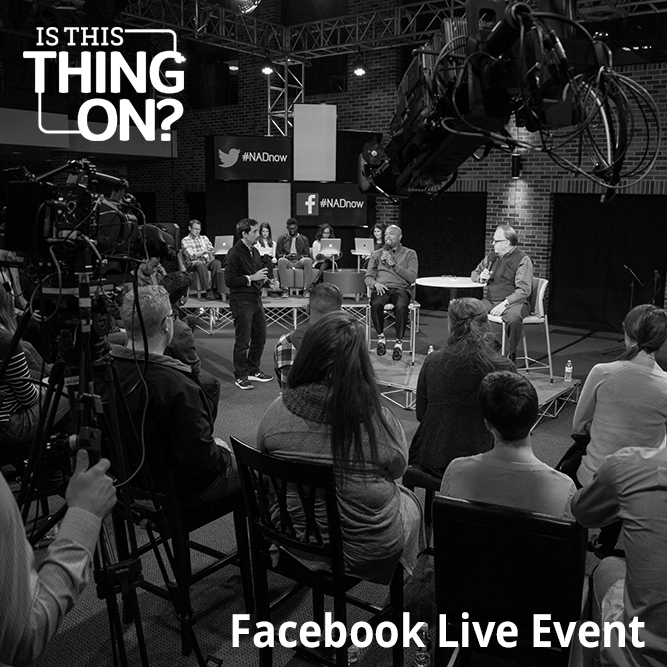 Is This Thing On? Facebook Live Event at Union College 2017