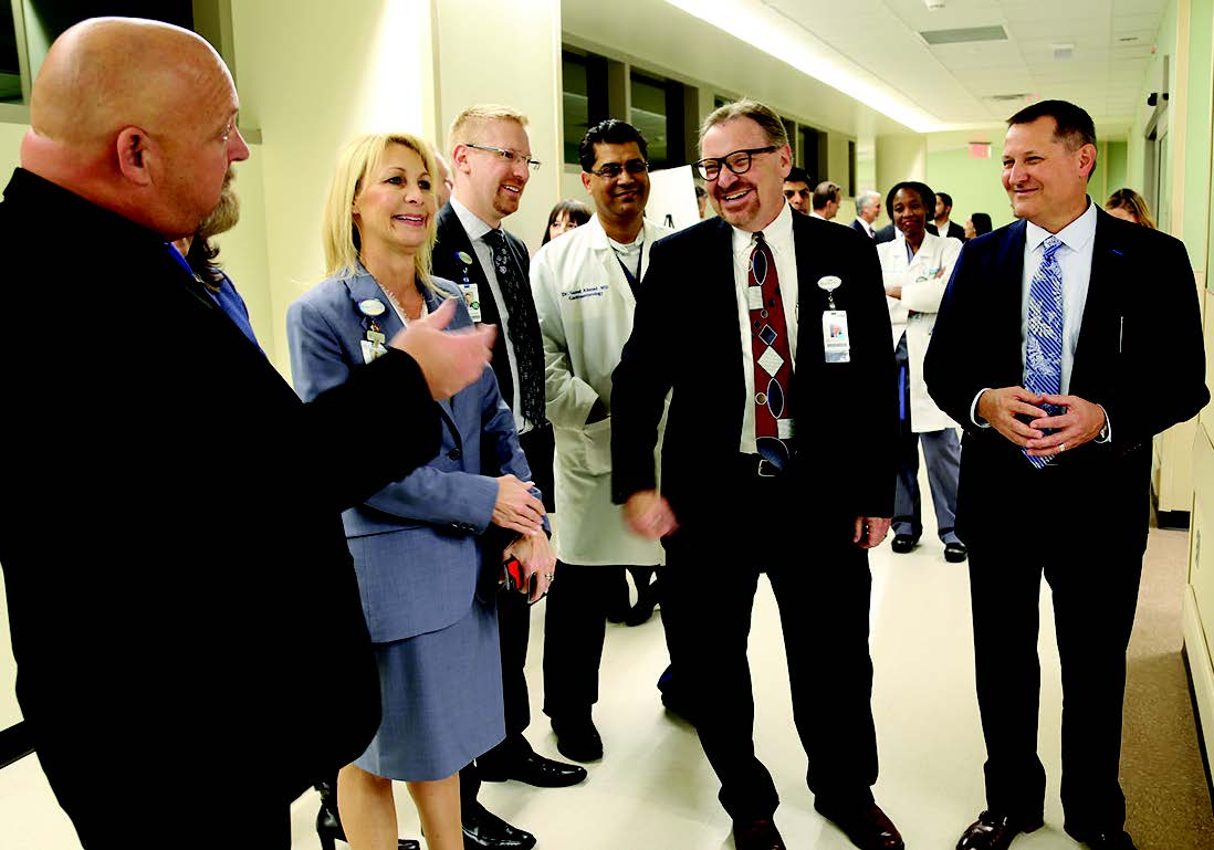 CEO Terry Shaw at Adventist Health Systems