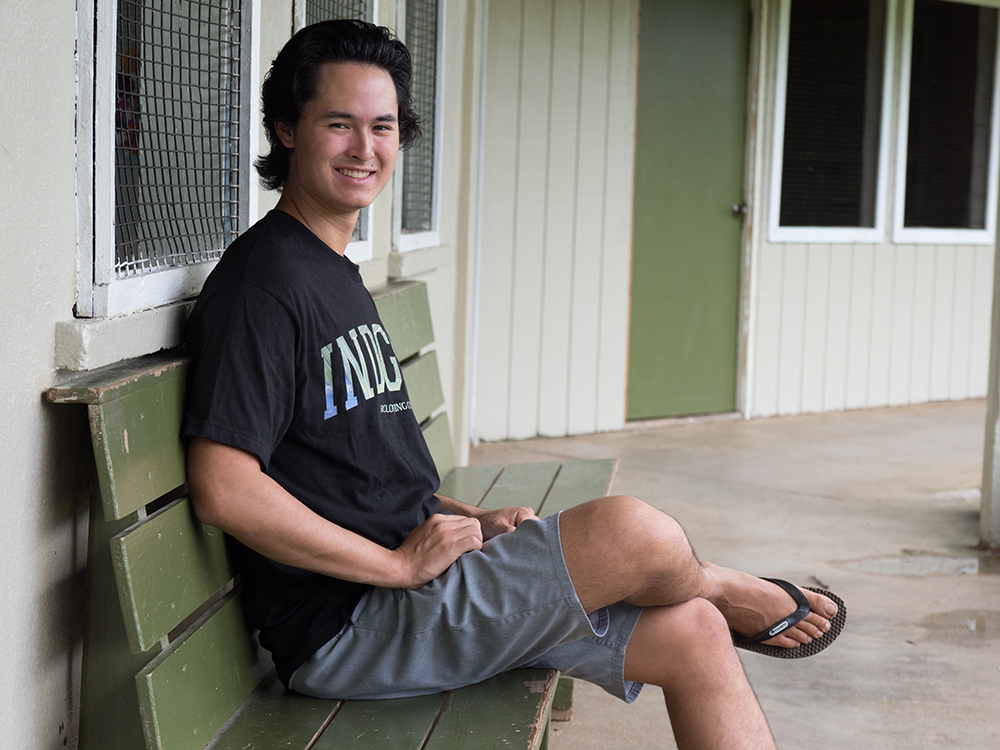 Alex Chang, Adventist student missionary in Pohnpei
