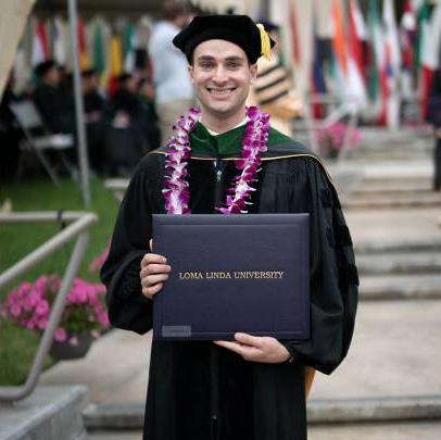 LLU graduate Dean LaBarba