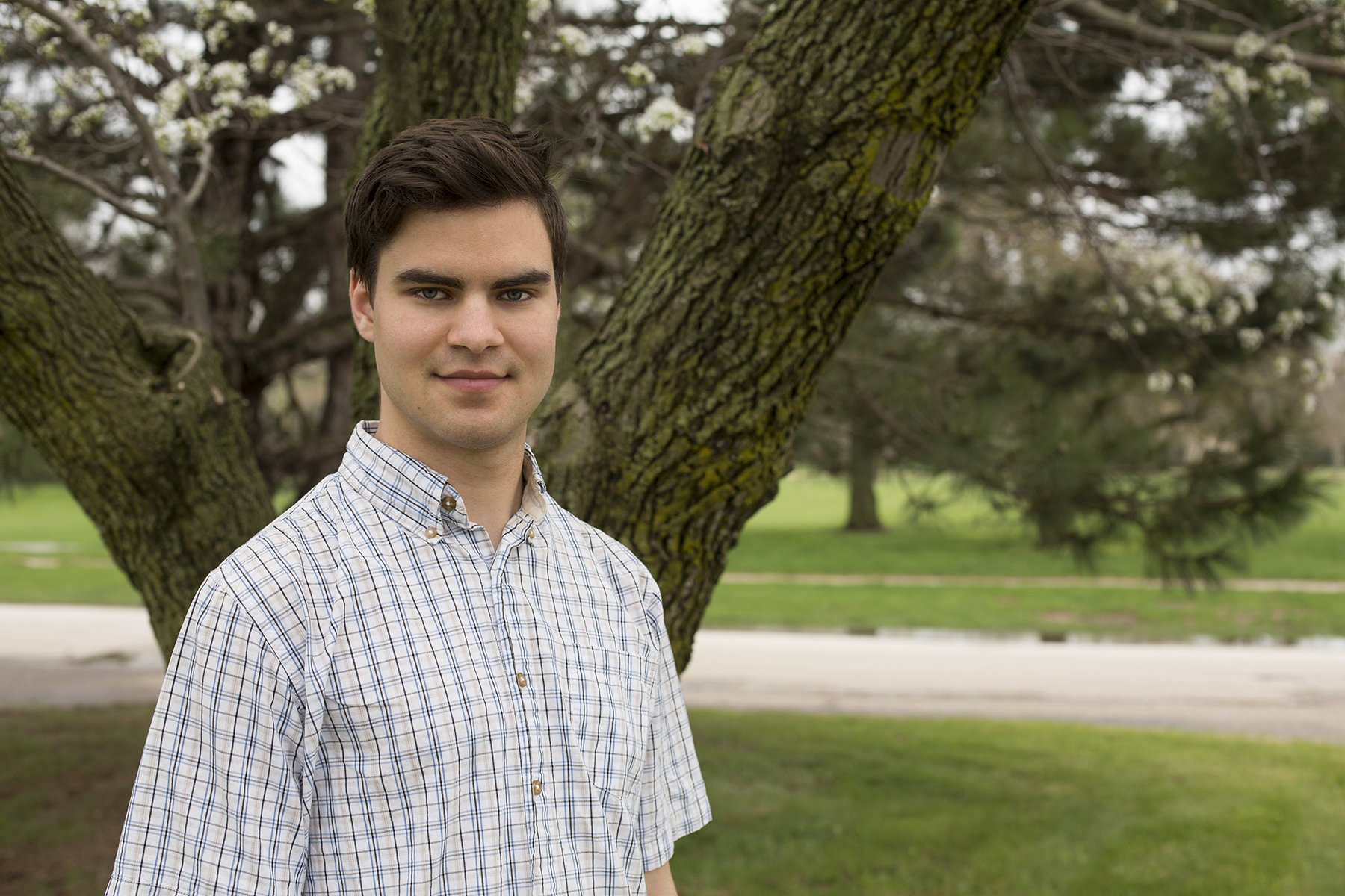 Mykhaylo M. Malakhov is an Andrews University student who awarded the Barry Goldwater Scholarship