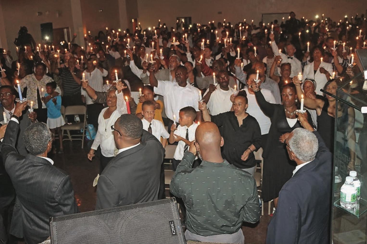 bermuda candlelight service