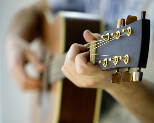 Fount of Every Blessing guitar close up