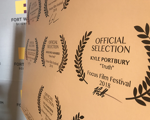 SWAU Fort Worth film festival recognition
