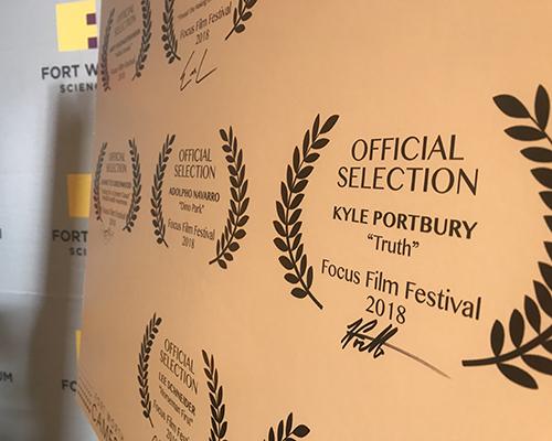 SWAU Fort Worth film festival recognition
