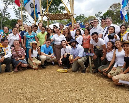 NPUC Gleaner photo of WWU students/interns mission trip