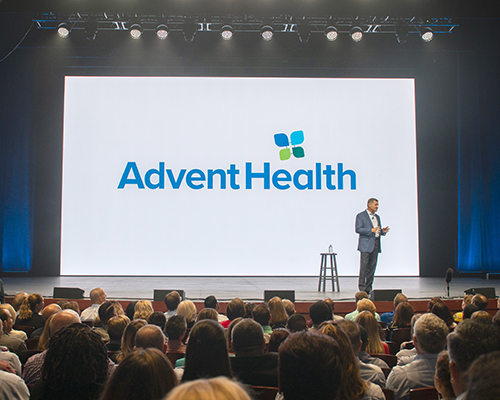 Terry Shaw introduces AdventHealth