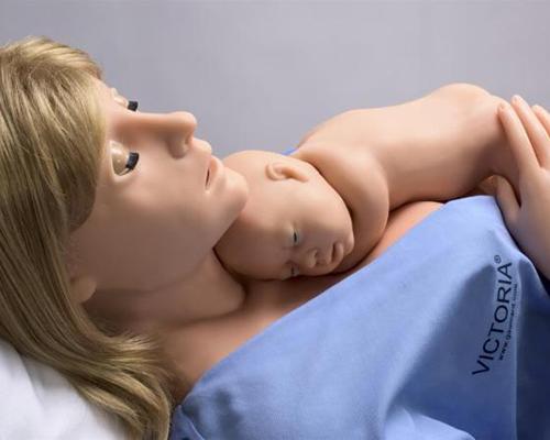 Medical simulation mannequin VICTORIA