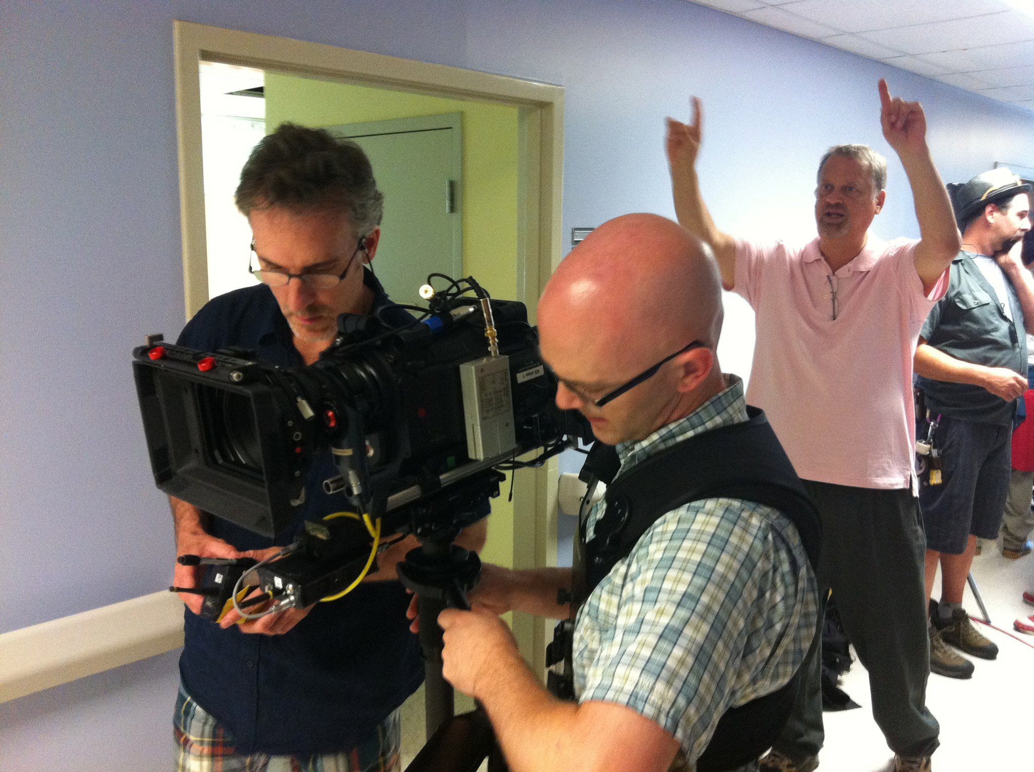 Jeff Wood directs Hell and Mr. Fudge.